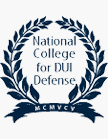 National College for DUI Defense Badge