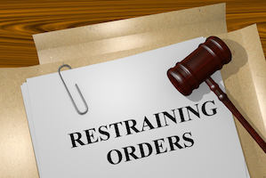 injunction restraining order
